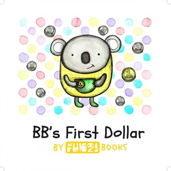 BB's first dollar money management book teaching financial skills to children